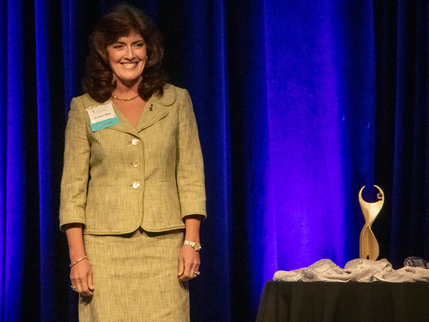 Dr. Mary Moss was nominated for the annual ATHENA Leadership Awards, hosted by Rutherford Cable on Friday, April 12, 2019 at Embassy Suites Murfreesboro.