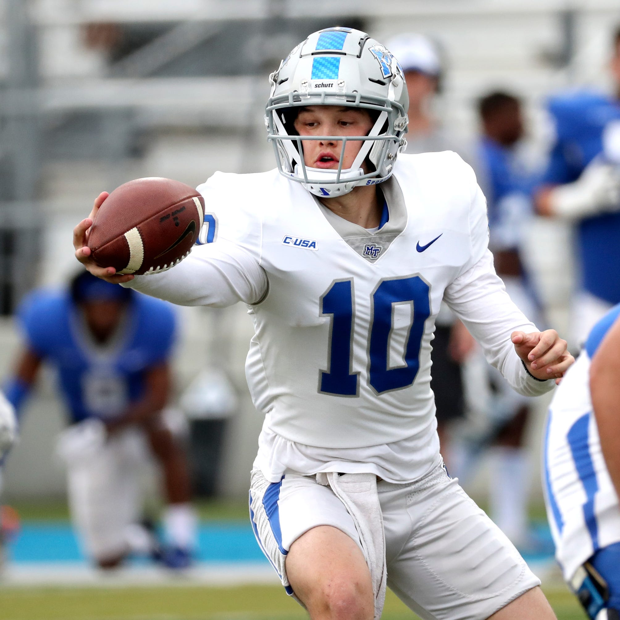 MTSU's quarterback battle still a question following the end of spring practice