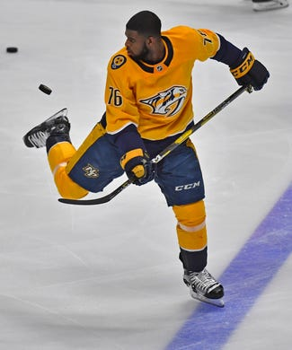 new style e585c c6383 PK Subban trade: Predators fans mostly sad to see Subban ...