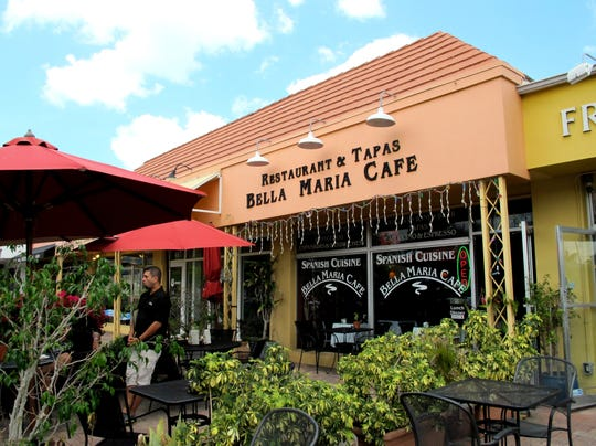 The last day for Bella Maria Cafe on Fifth Avenue South in Naples was April 27, 2016. The tapas restaurant had operated since late 2004.