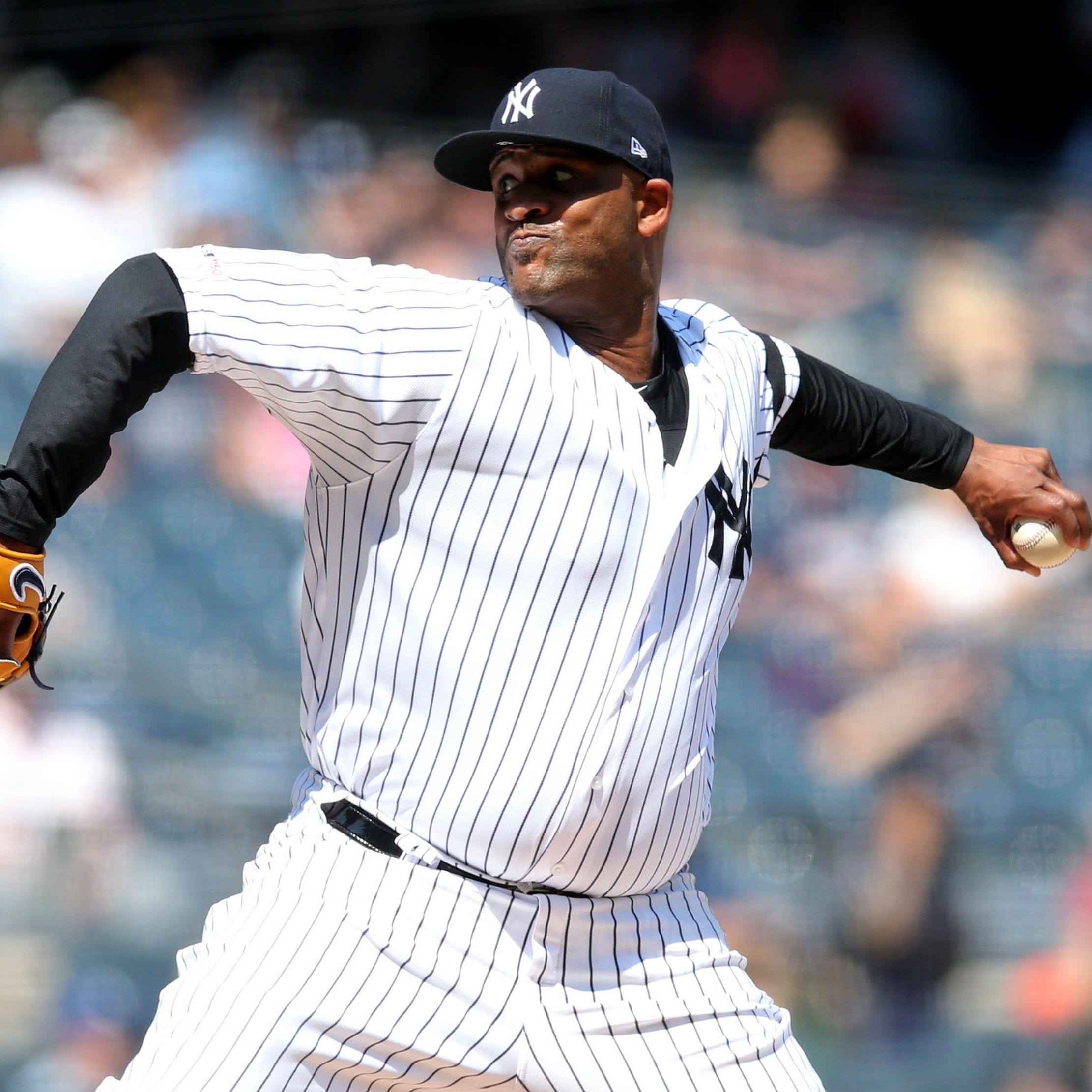 CC Sabathia starts on the right note, helps Yankees snap losing streak