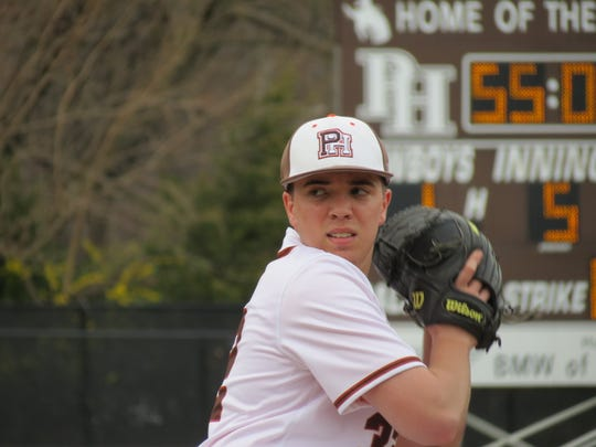 Ryan Ramsey tossed a shutout to lead Pascack Hills to a 3-0 baseball victory over Bergen Catholic in Montvale on Saturday, April 13, 2019.