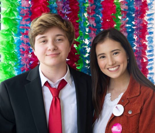 Caden McDonald and Abrianna Morales started the Sexual Assault Youth Support Network after Morales was sexually assaulted at age 15. On April 14, 2019, they hosted a day of empowerment photo shoot.