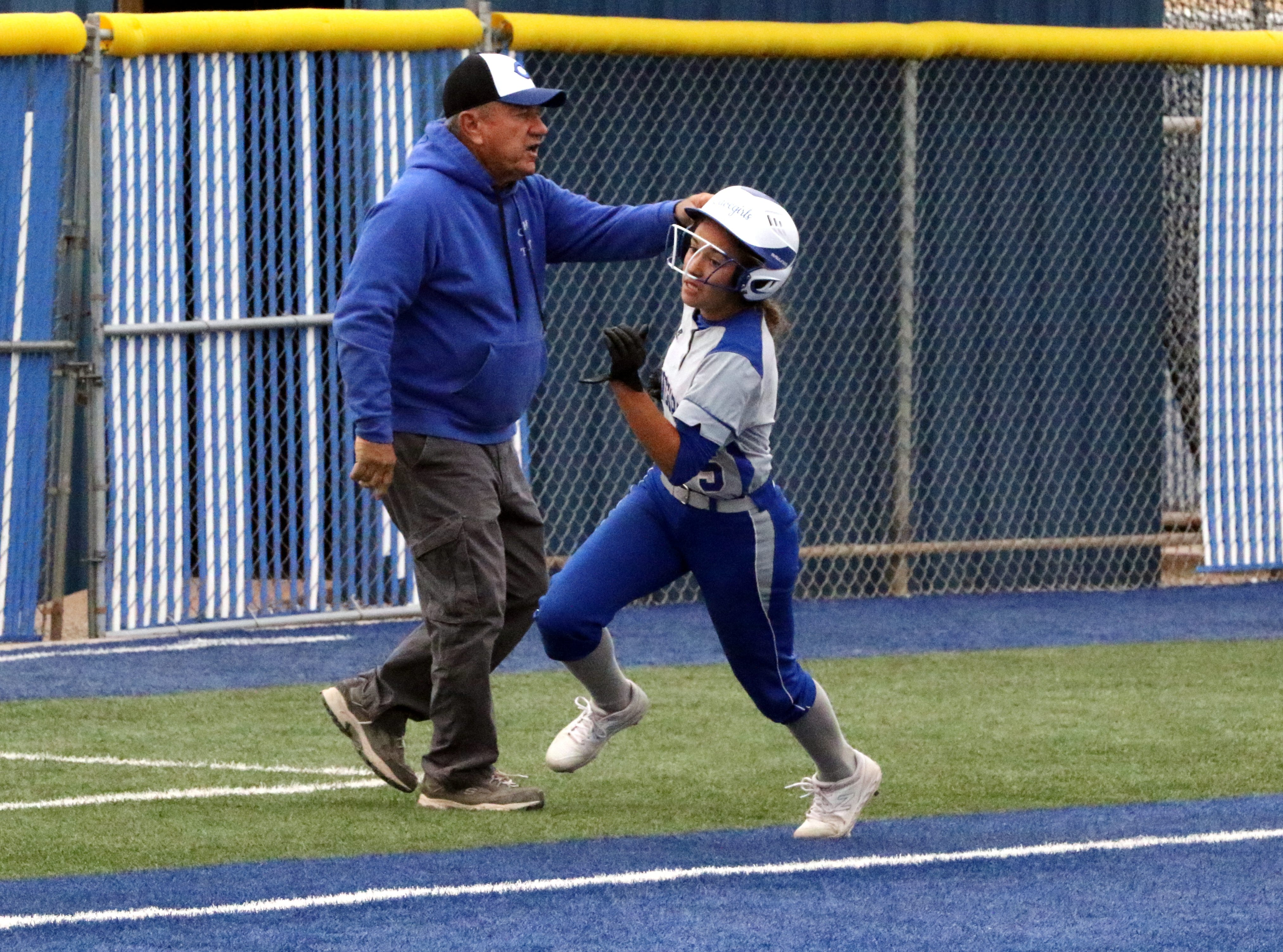 Photo highlights of the doubleheader between Carlsbad and Lovington on April 12, 2019. Carlsbad won Game 1, 8-2 and Game 2, 13-3.