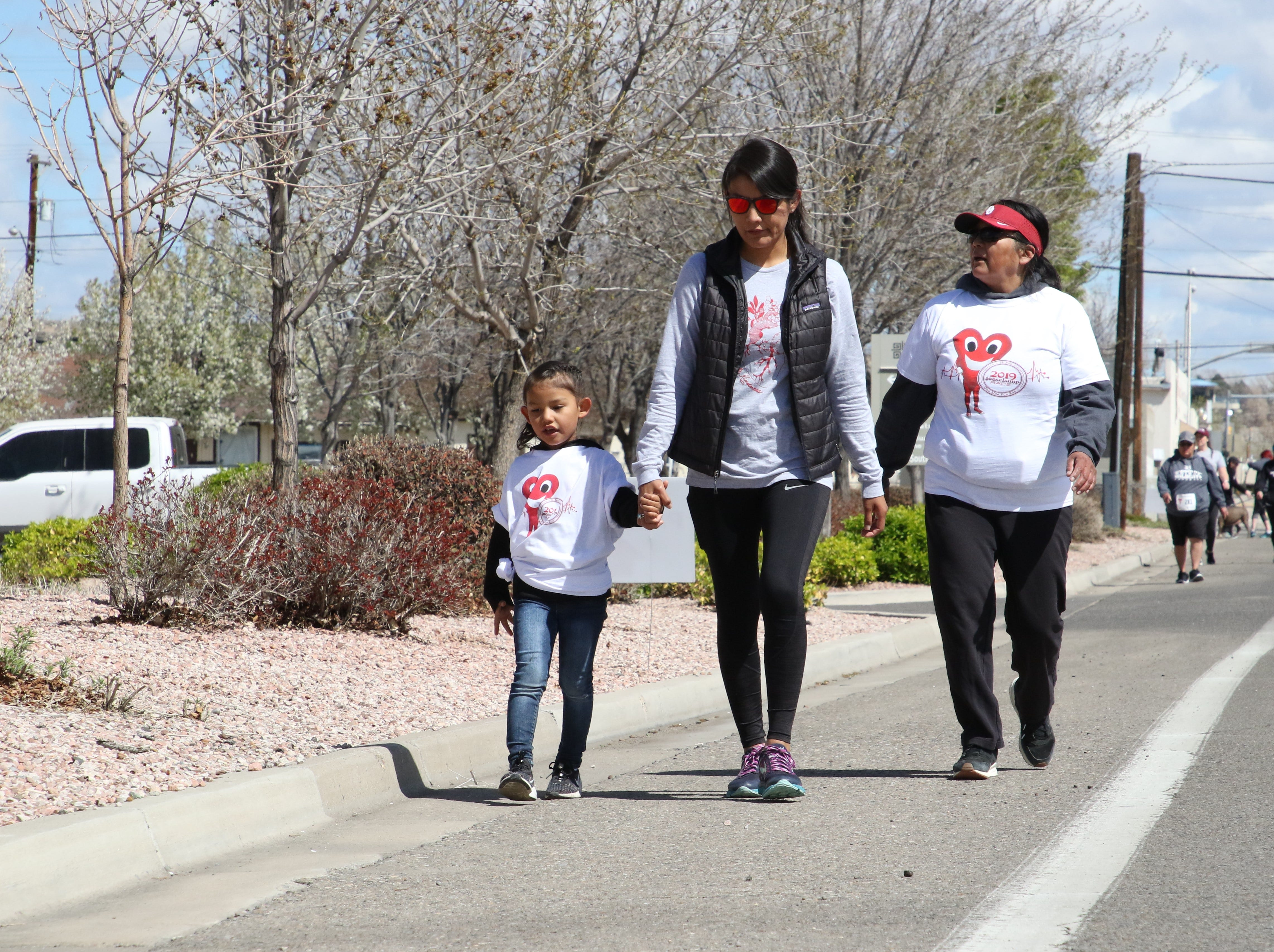 A one-mile fun walk and run was part of the 11th annual A Fair of the Heart and Goosebump Race on Saturday in Farmington.