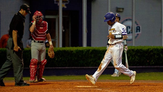 Javier Vaz helped LSU Eunice push past Baton Rouge CC on Friday for a 12-7 victory on Friday at Bengal Stadium.
