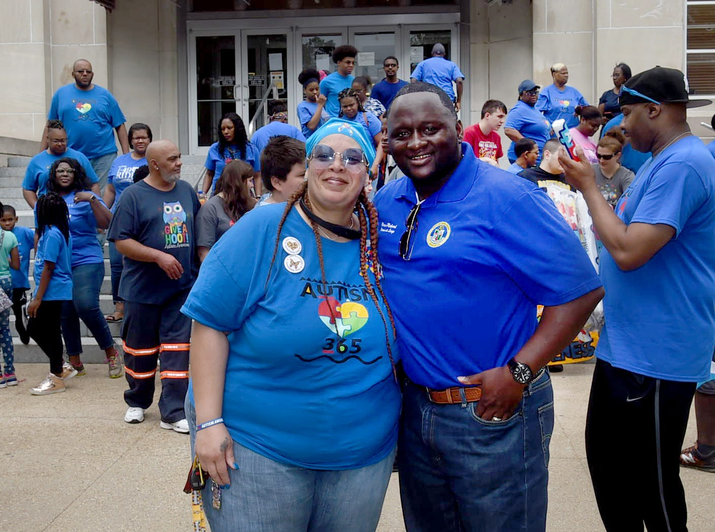 Autism Awareness March held Saturday in downtown Opelousas.