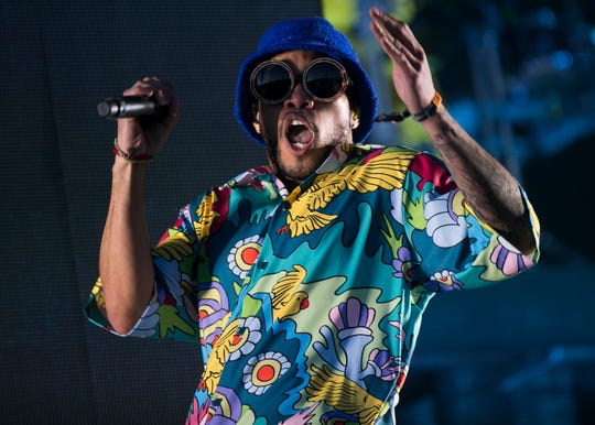 Anderson .Paak and the Free Nationals will headline the 4xFar festival at Empire Grand Oasis in Thermal on Jan. 18, 2020.