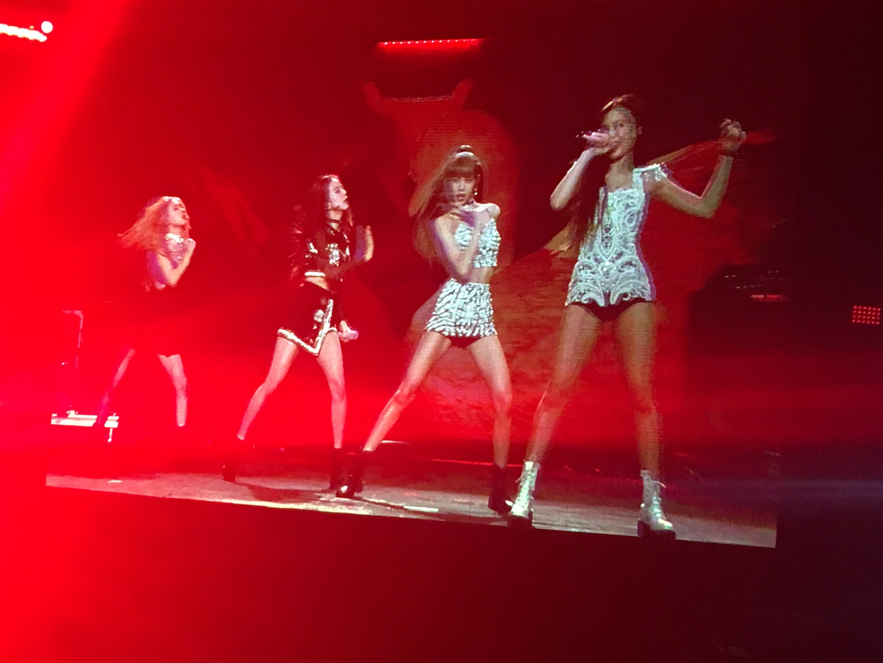 BLACKPINK performs at the 2019 Coachella Valley Music and Arts Festival at the Empire Polo Club in Indio, Calif.