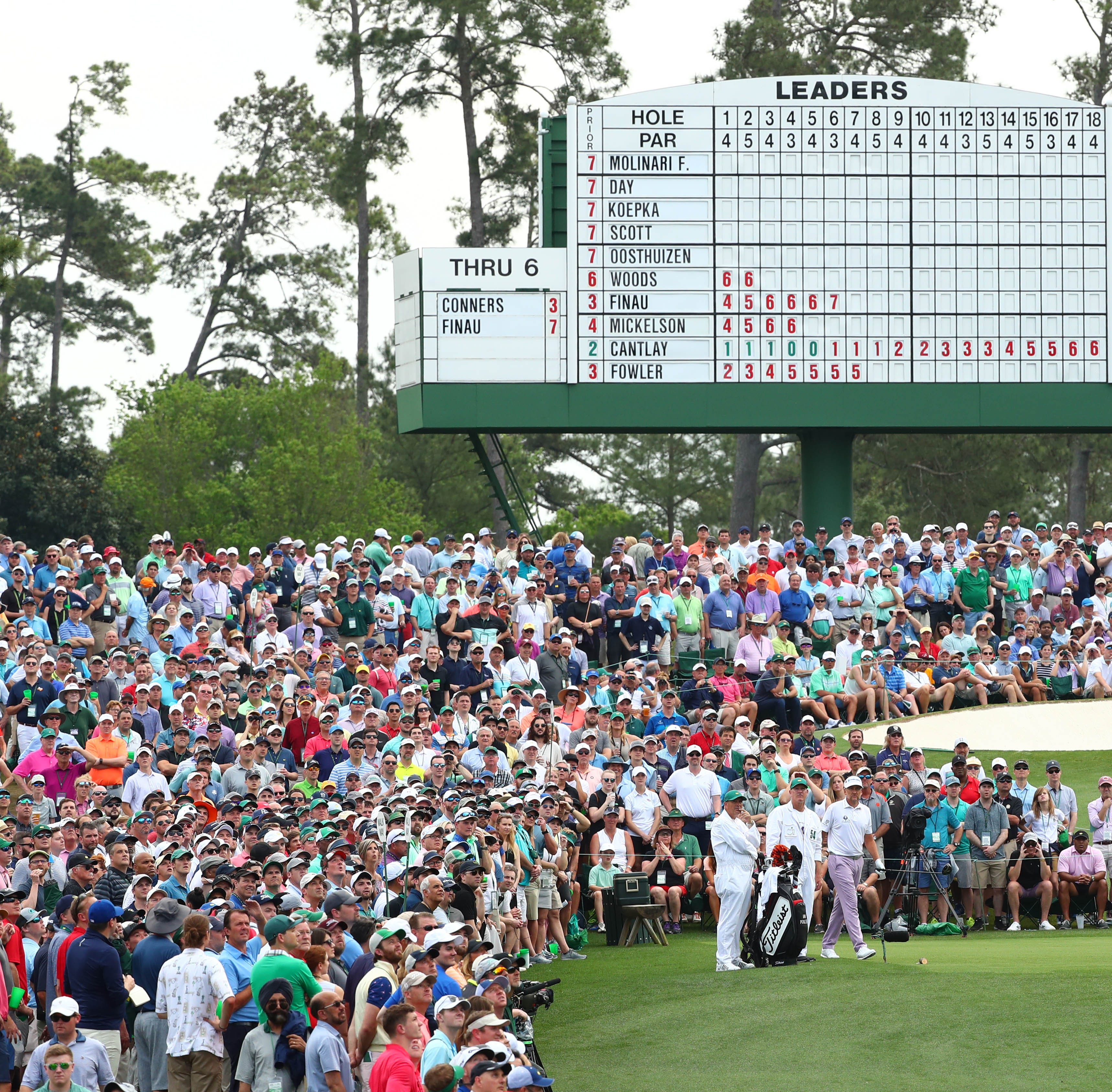 How to watch Masters final round with tee times moved up due to weather