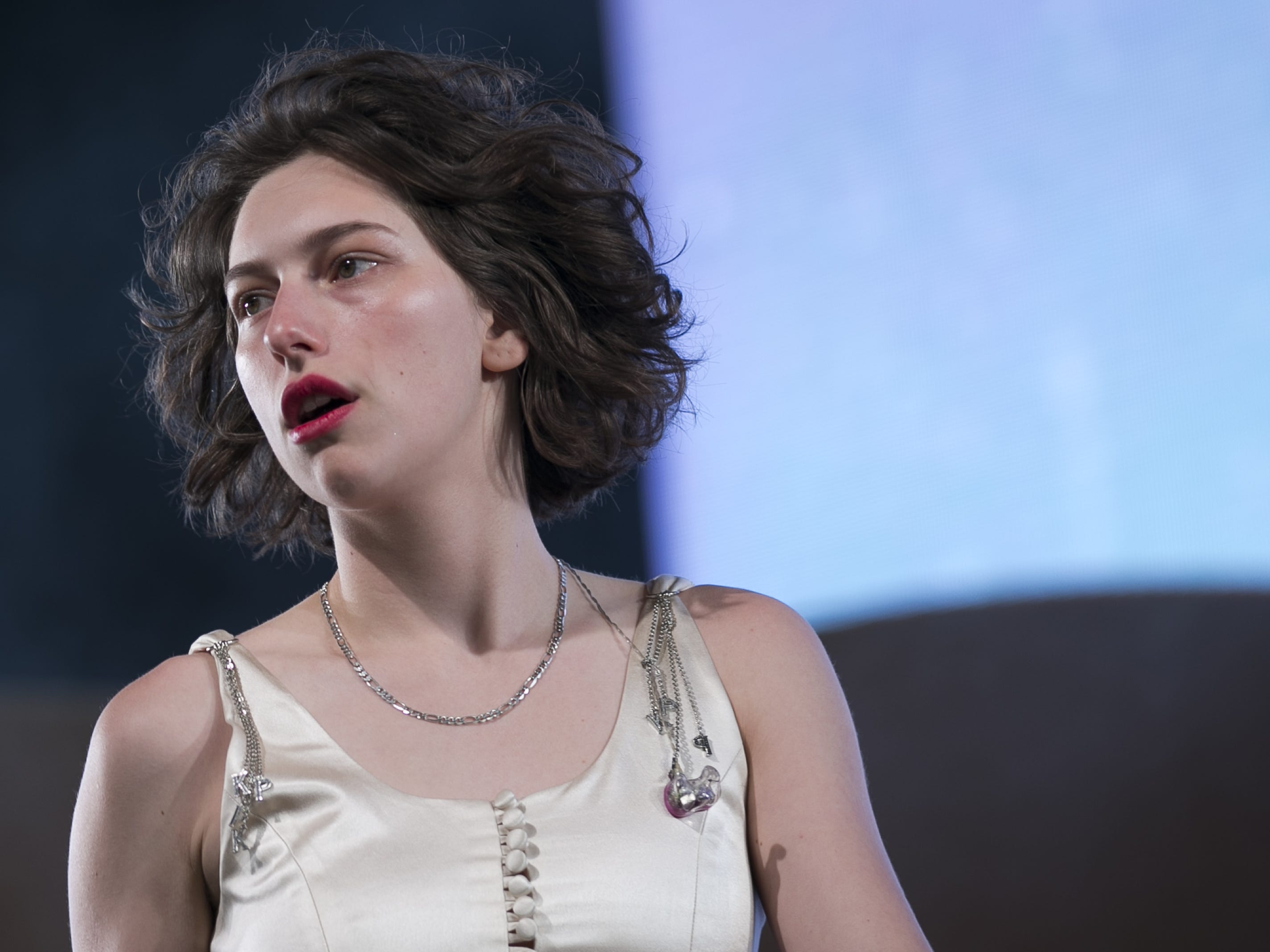 King Princess performs at the Coachella Valley Music and Arts Festival in Indio, Calif. on April 12, 2019.