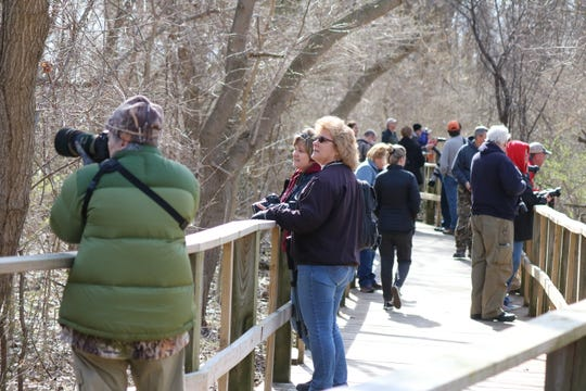 Wildlife photography enthusiasts got the chance to learn some tips and tricks from a pair of professionals with decades of experience in the field at Magee Marsh.