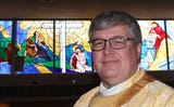 Rev. Joseph Blenkle, of St. Mary, Mother of the Church in Fishkill, talks about his Easter message while at the church April 12, 2019.