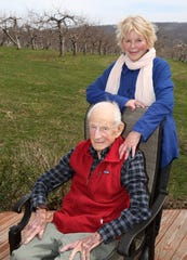 Robert and Lucinda Franks Morgenthau will be honored by the Vassar Haiti Project for their lifetime of work. They are photographed at their home at Fishkill Farms April 12,  2019.