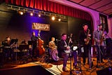 Big Swing Thing III Premiere Swing Music & Dance Festival at Valencia Ballroom in York City, Friday, April 12, 2019.