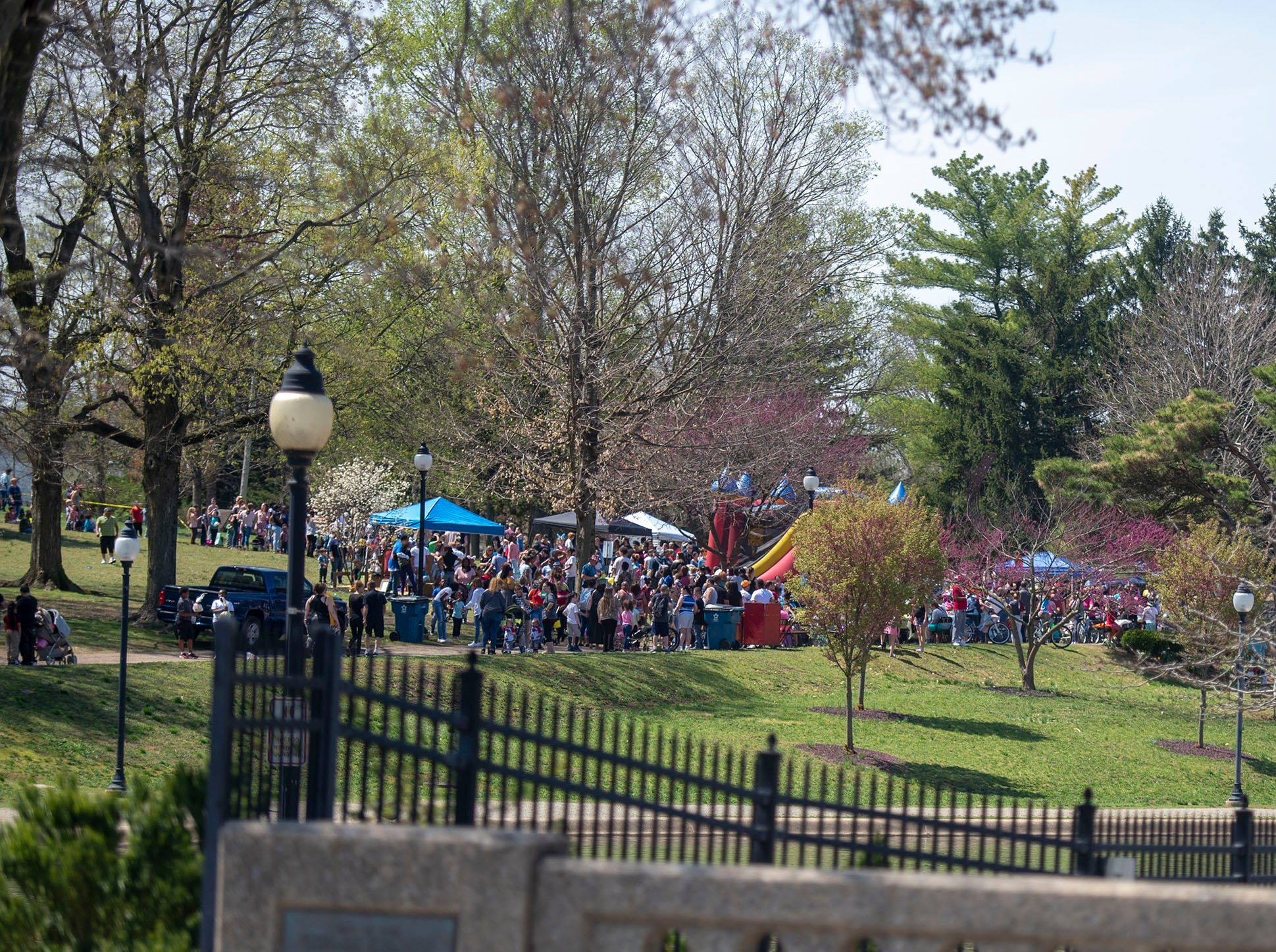 All of the eggs were found, but the fun continues at the City of York's Easter Egg Hunt at Kiwanis Lake on Saturday, April 13, 2019.