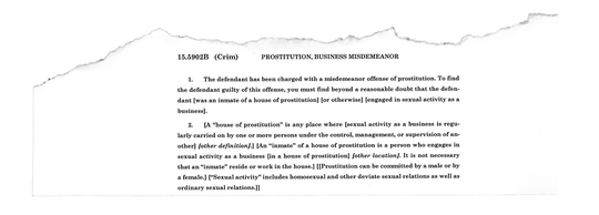 """The proposed jury instructions for prostitution in Pennsylvania require that prosecutors prove beyond a reasonable doubt that a person """"engaged in sexual activity as a business."""""""