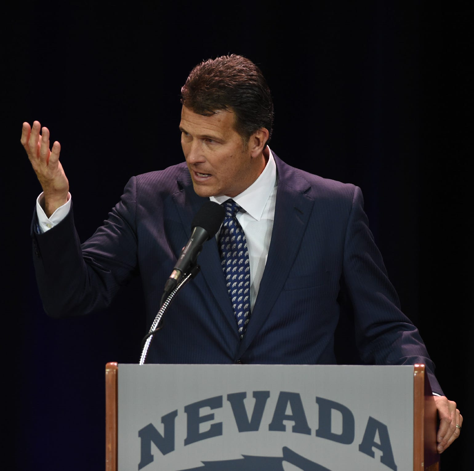 New Nevada coach Steve Alford: Wolf Pack players are 'priority right now'