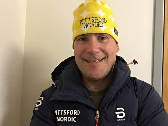 """AGR girls Nordic ski coach of the year Brian Lilly of Pittsford: """"The reason I love it most and above so many other sports is because it's a lifetime sport.''"""