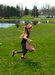 Enjoy hunting for eggs, and support children who are struggling, at the 13th annual Alyssa's Angels Easter Egg Hunt on Saturday, April 20, in Rush.
