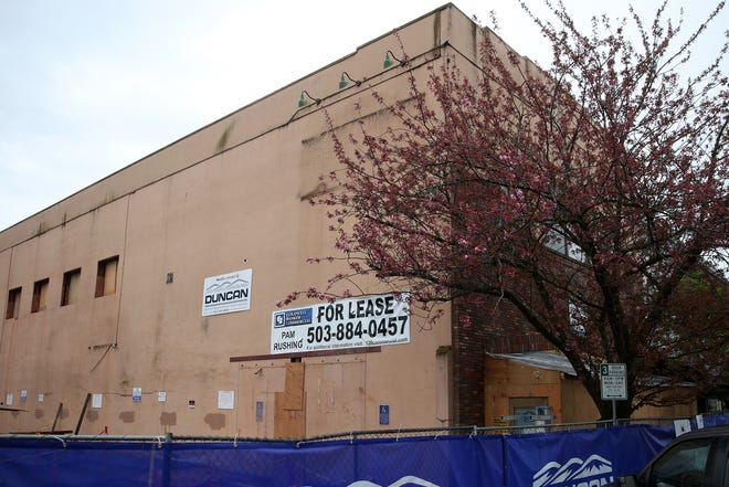 Renovation of the former Old Spaghetti Warehouse location in downtown Salem on April 13, 2019.