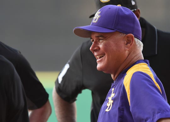 LSU head coach Paul Mainieri and the Tigers escaped with a wild win Friday vs. Missouri.
