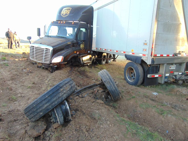 A 62-year-old man died early Saturday after his stopped passenger car was struck on Interstate 15 north of Cedar City.