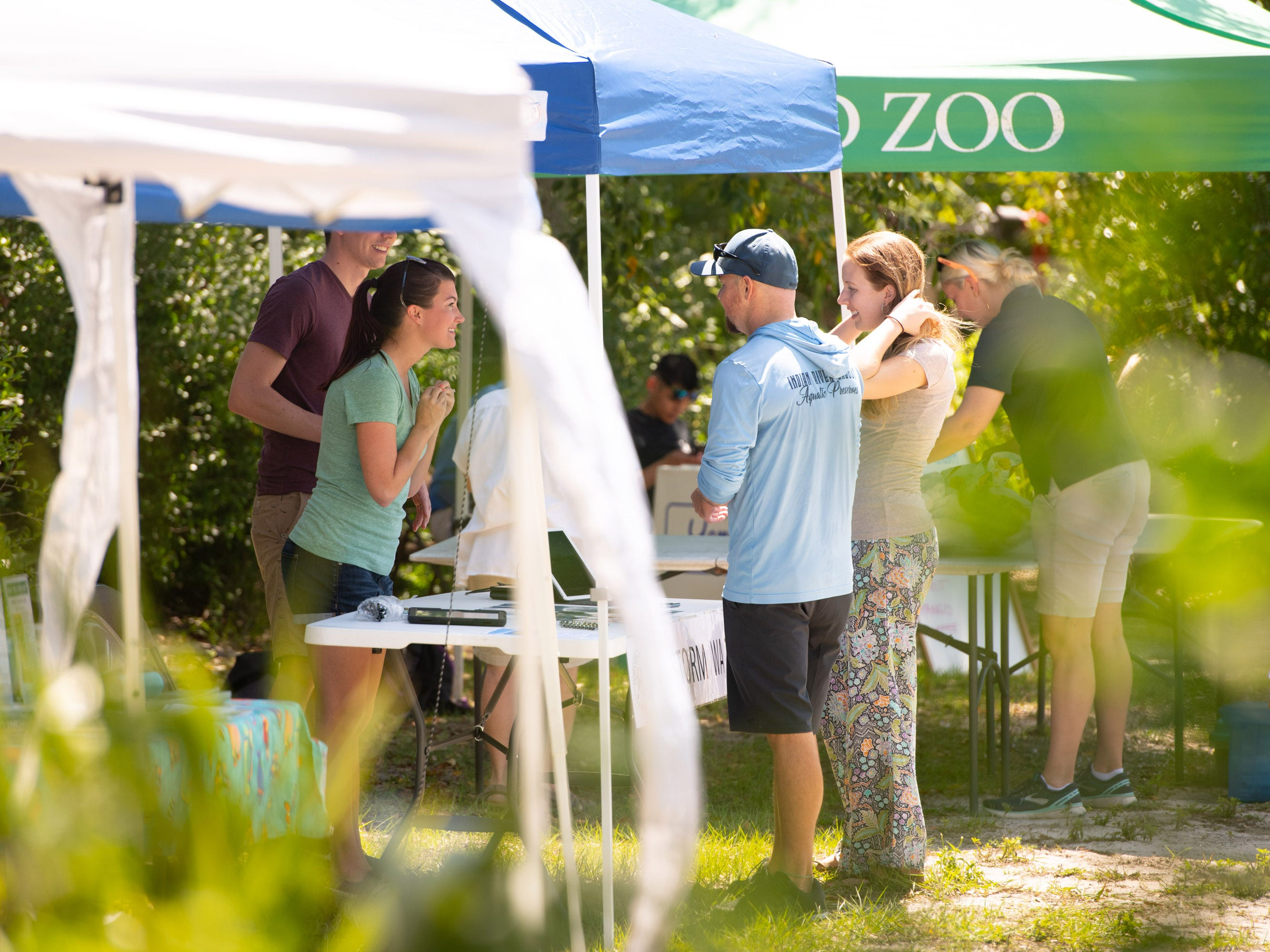 The Environmental Learning Center's first Citizen Science Day gave people a chance to be citizen scientists by meeting with environmental researchers looking for help with a variety of projects on Saturday, April 13, 2019, at The Environmental Learning Center in Wabasso.