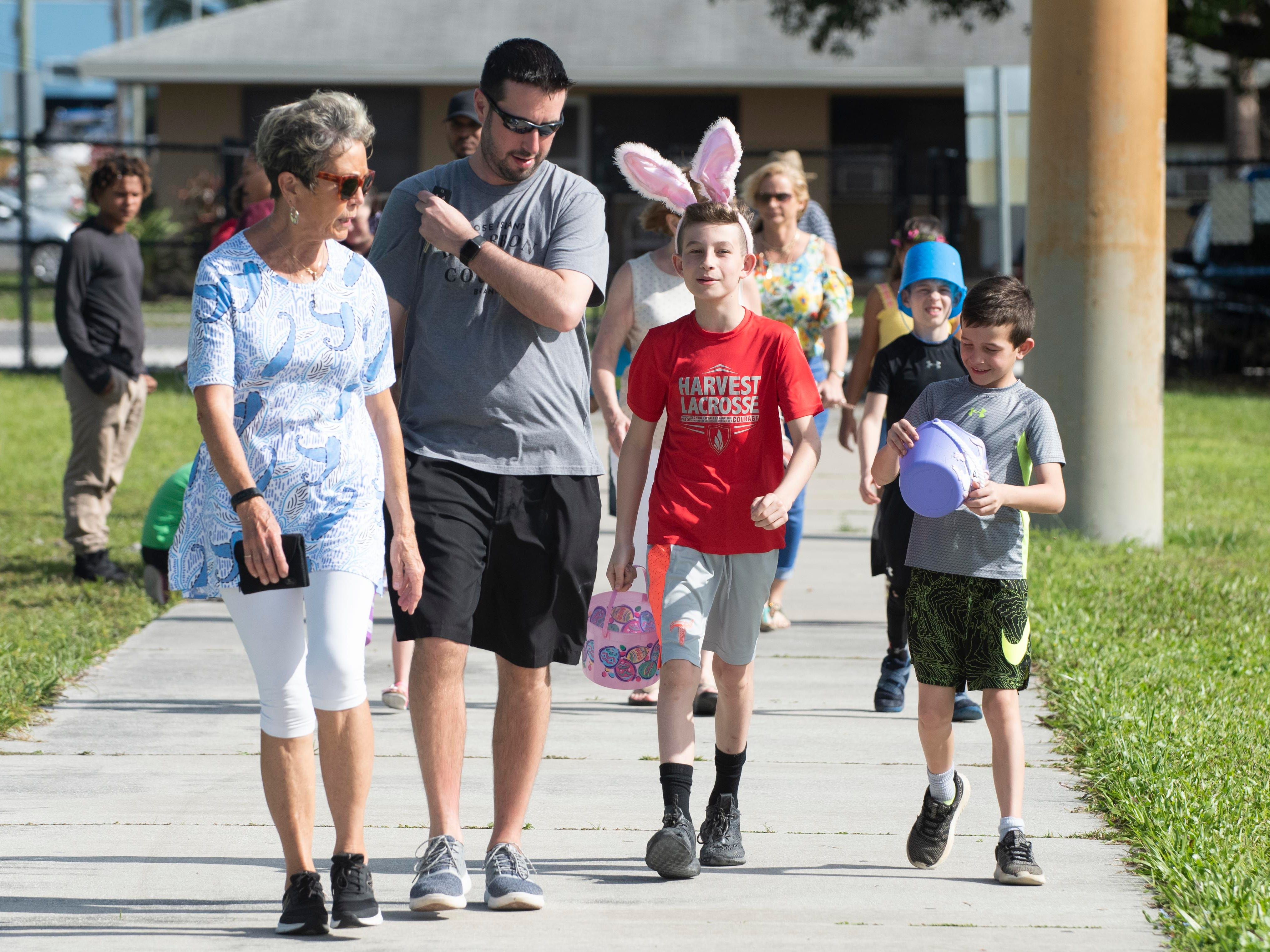 The Spring Community Mixer and Egg Hunt was held on Saturday, April 13, 2019, at the 10th Street Community Center Guy Davis Sports Complex in Stuart. The hunt was divided into four, separate age groups. The free event also included golden eggs, face painting, carnival games, inflatables and free popcorn, snow cones and a hot dog lunch.