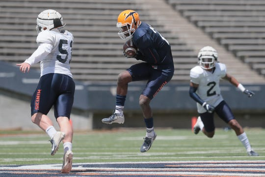 UTEP held their final spring practice in front of fans Saturday at the Sun Bowl.