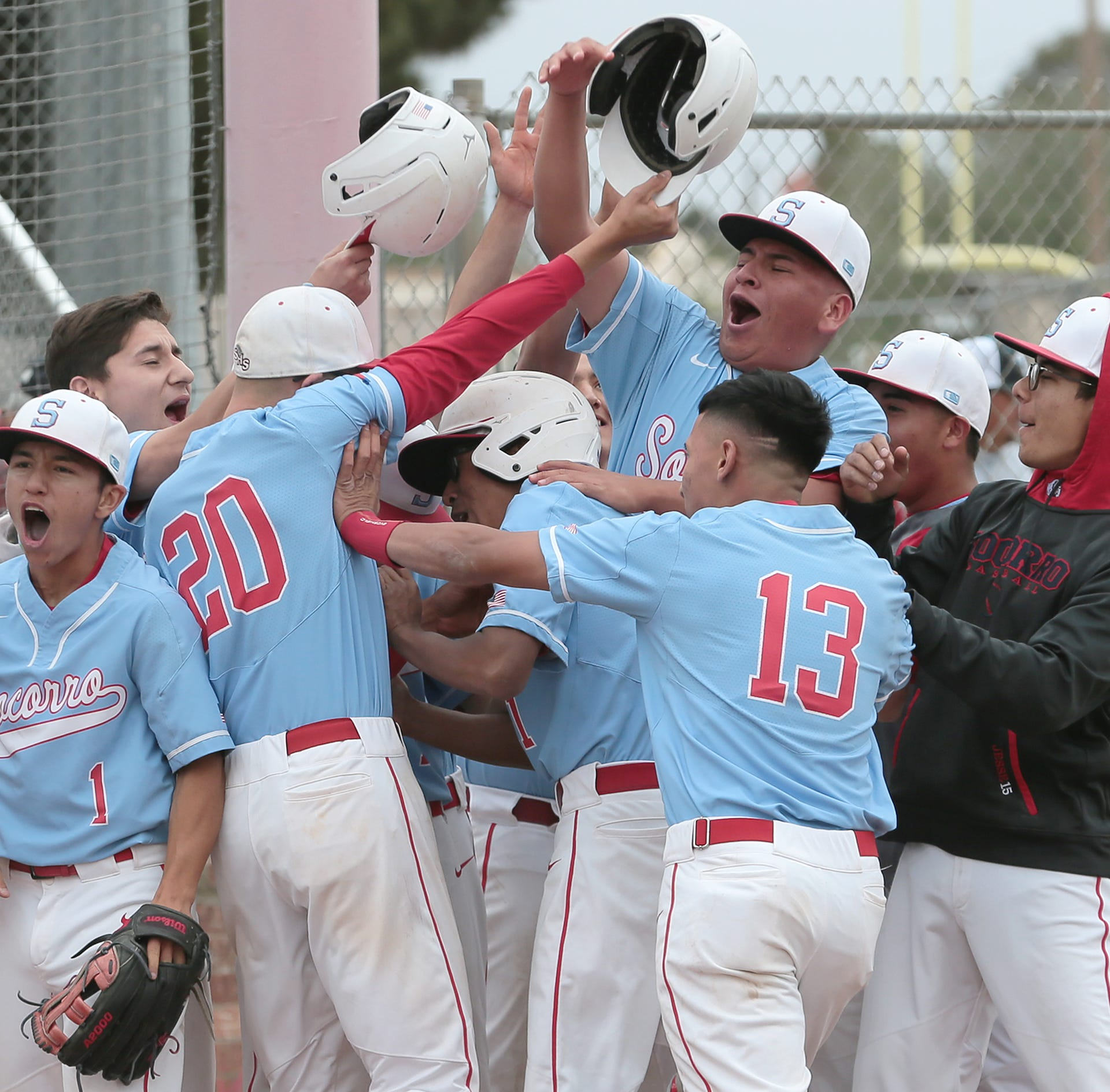 Socorro defeated Franklin Friday afternoon at Socorro High School 7-4.