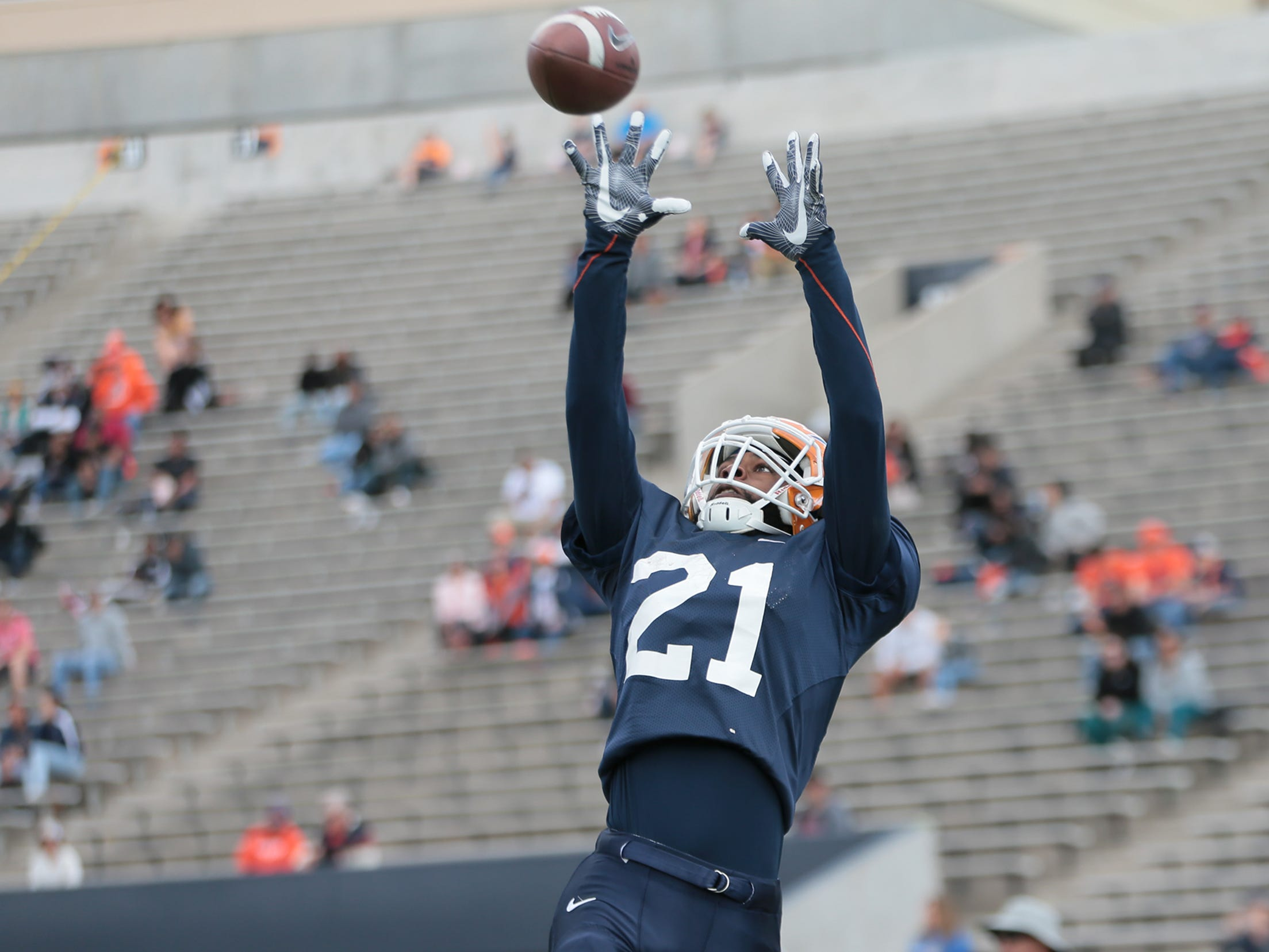 The UTEP Miners held their final spring practice in front of fans Saturday, April 13, 2019, at Sun Bowl Stadium.