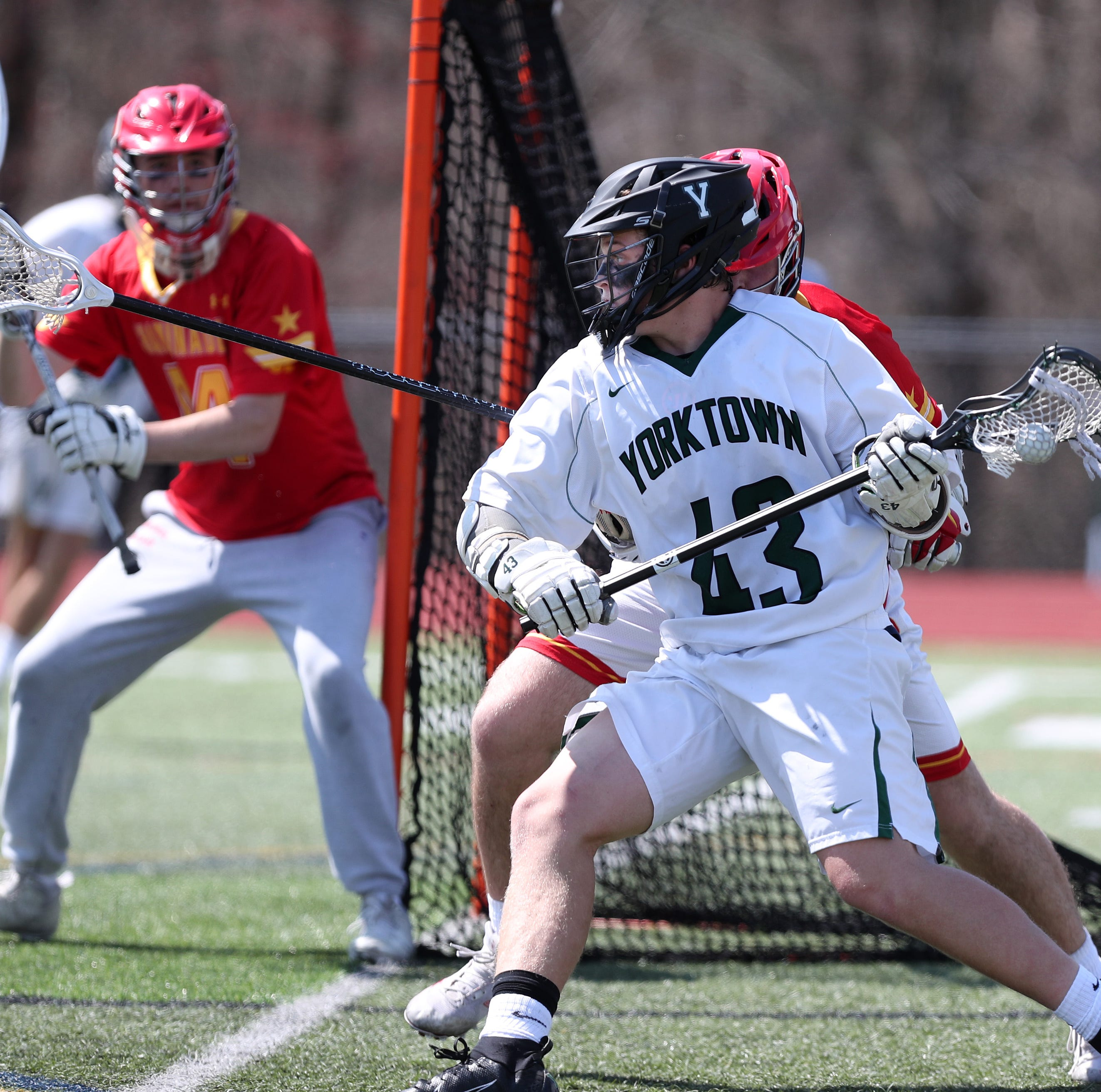 Boys lacrosse: Yorktown hopes to improve after loss to Long Island power Chaminade