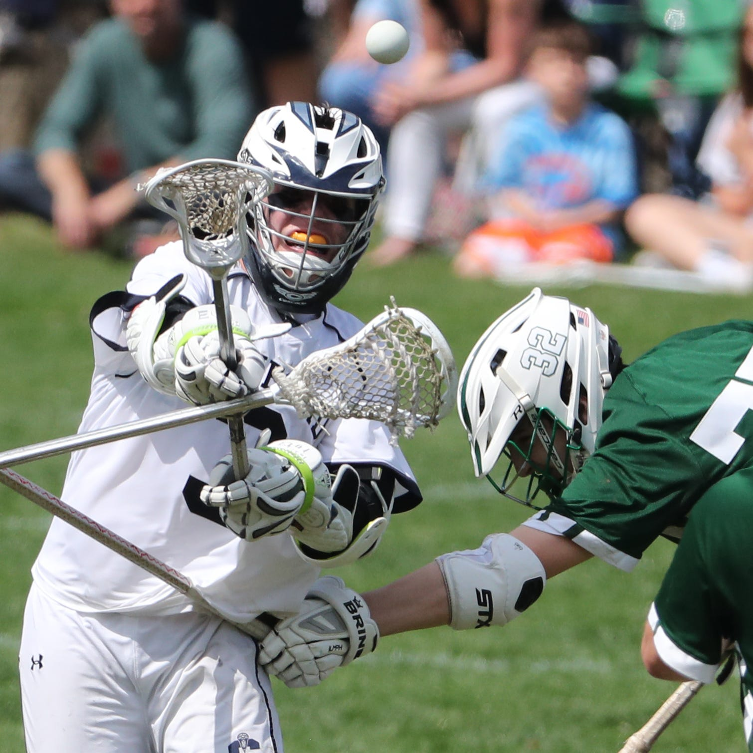 Sanford holds on to upset No. 4 Archmere in boys lacrosse