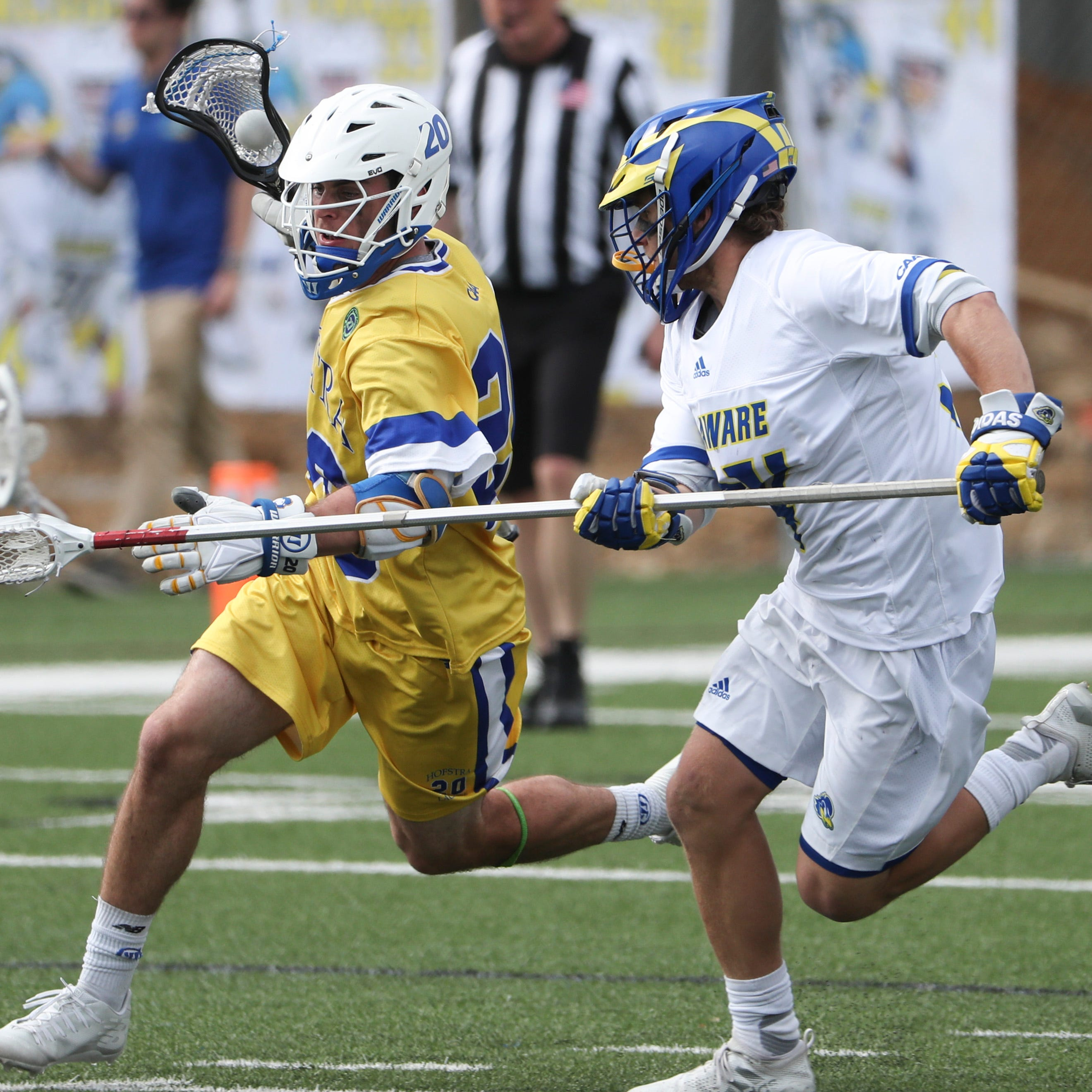 University of Delaware hammers Hofstra in CAA lacrosse showdown