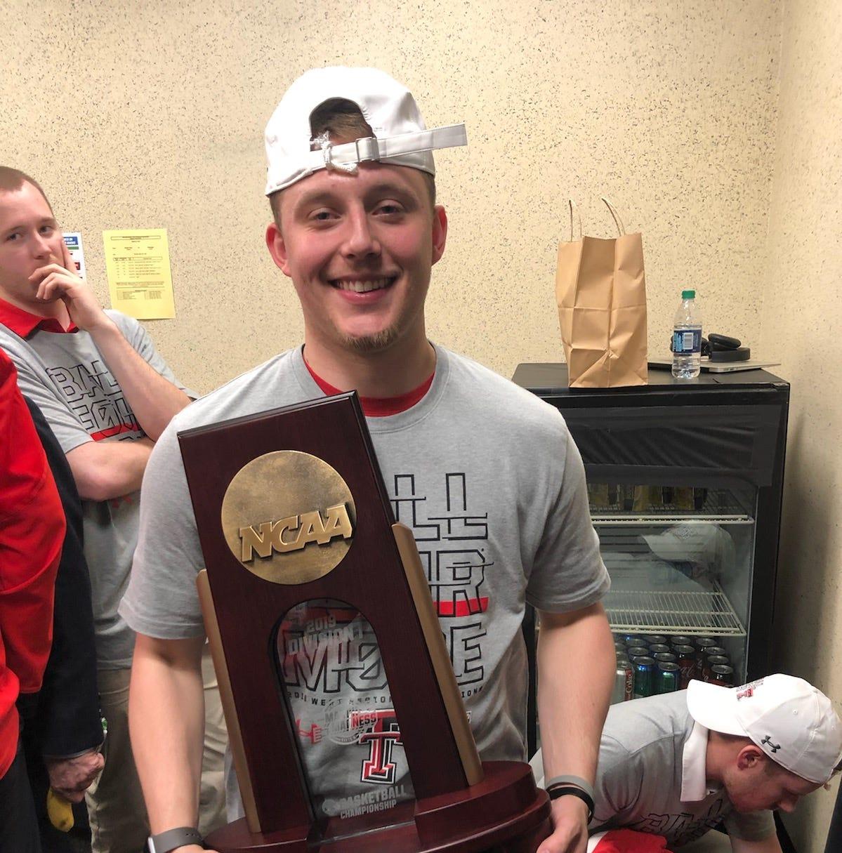 Holliday alum Noah Parker had front-row ticket to Texas Tech's special season