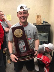 Noah Parker is a Holliday grad and freshman at Texas Tech where he served as a student assistant for the Texas Tech men's basketball team.