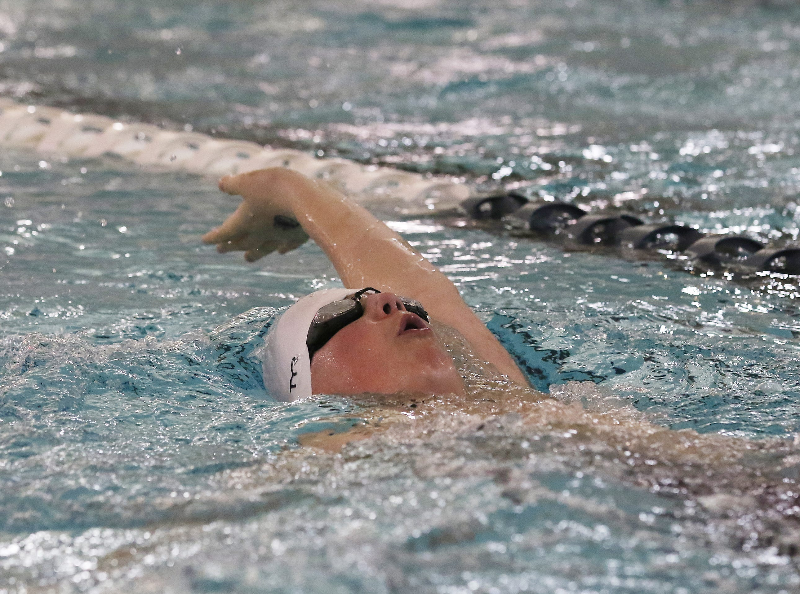 Middle School swimmers from a dozen schools gathered for the finale of the Muskingum Recreation Center Middle School Swim Meet Series at the MRC on Friday.