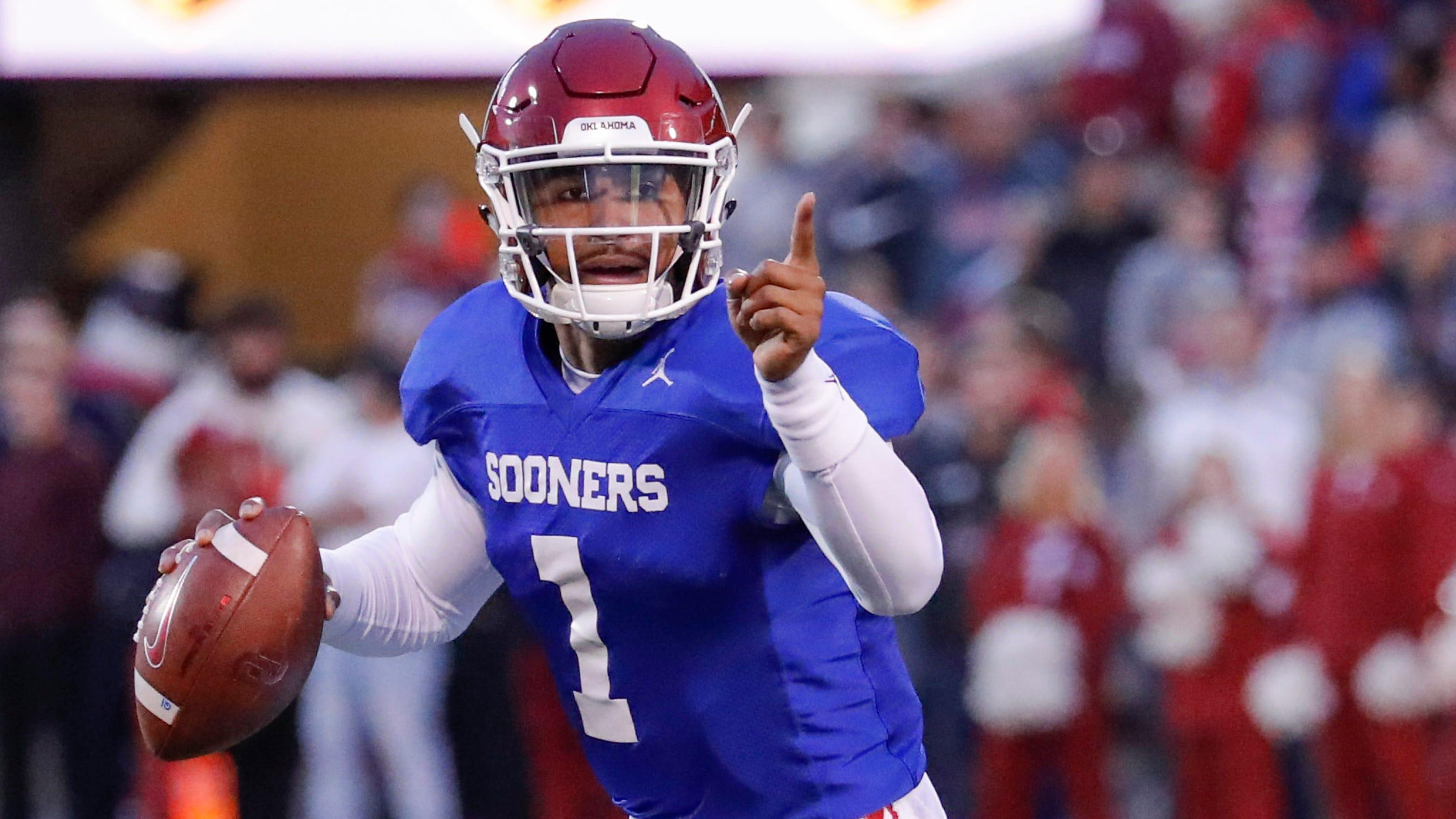 Oklahoma football: Jalen Hurts impresses at Sooners ...