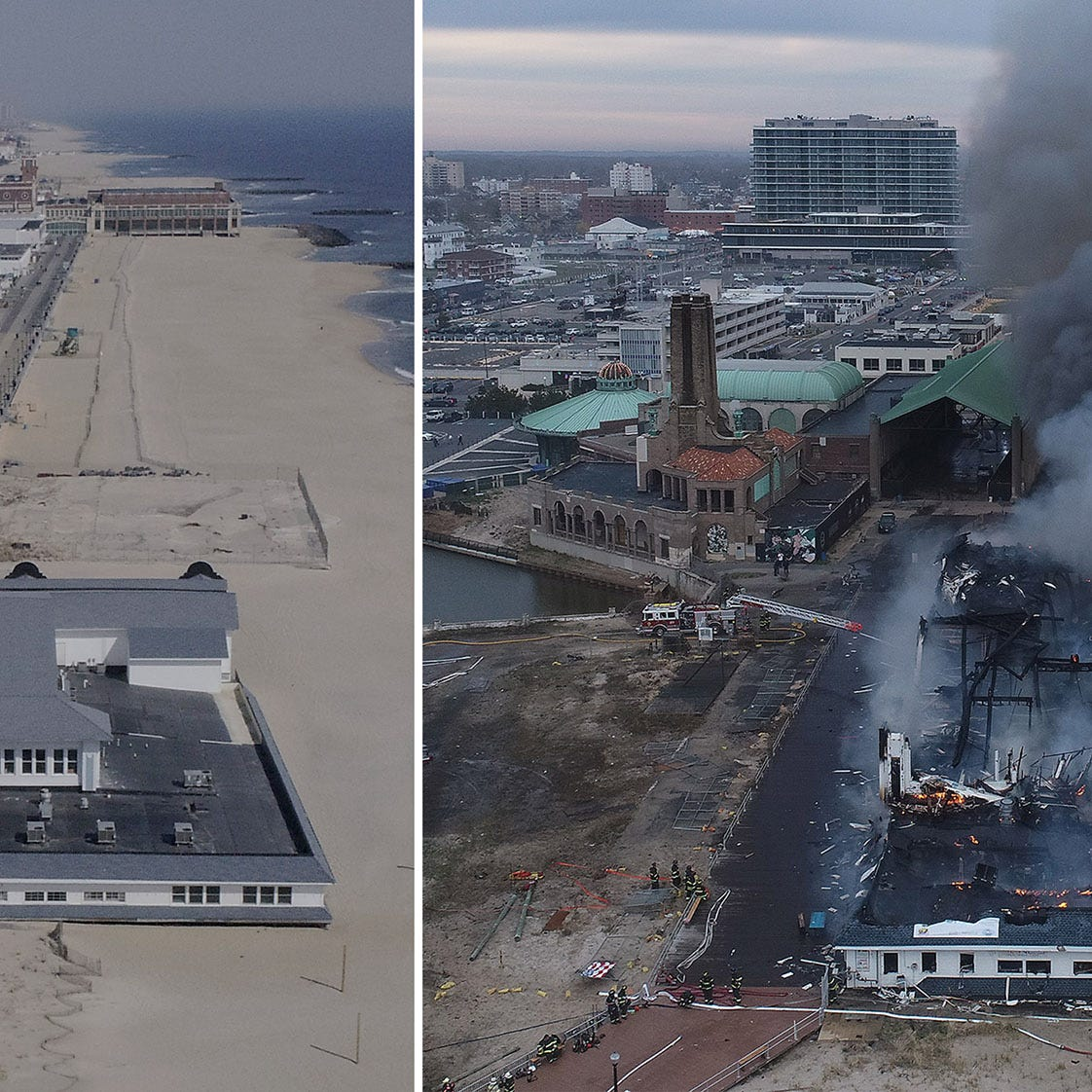 Ocean Grove fire breaks out at Dunes Boardwalk Cafe: What we know