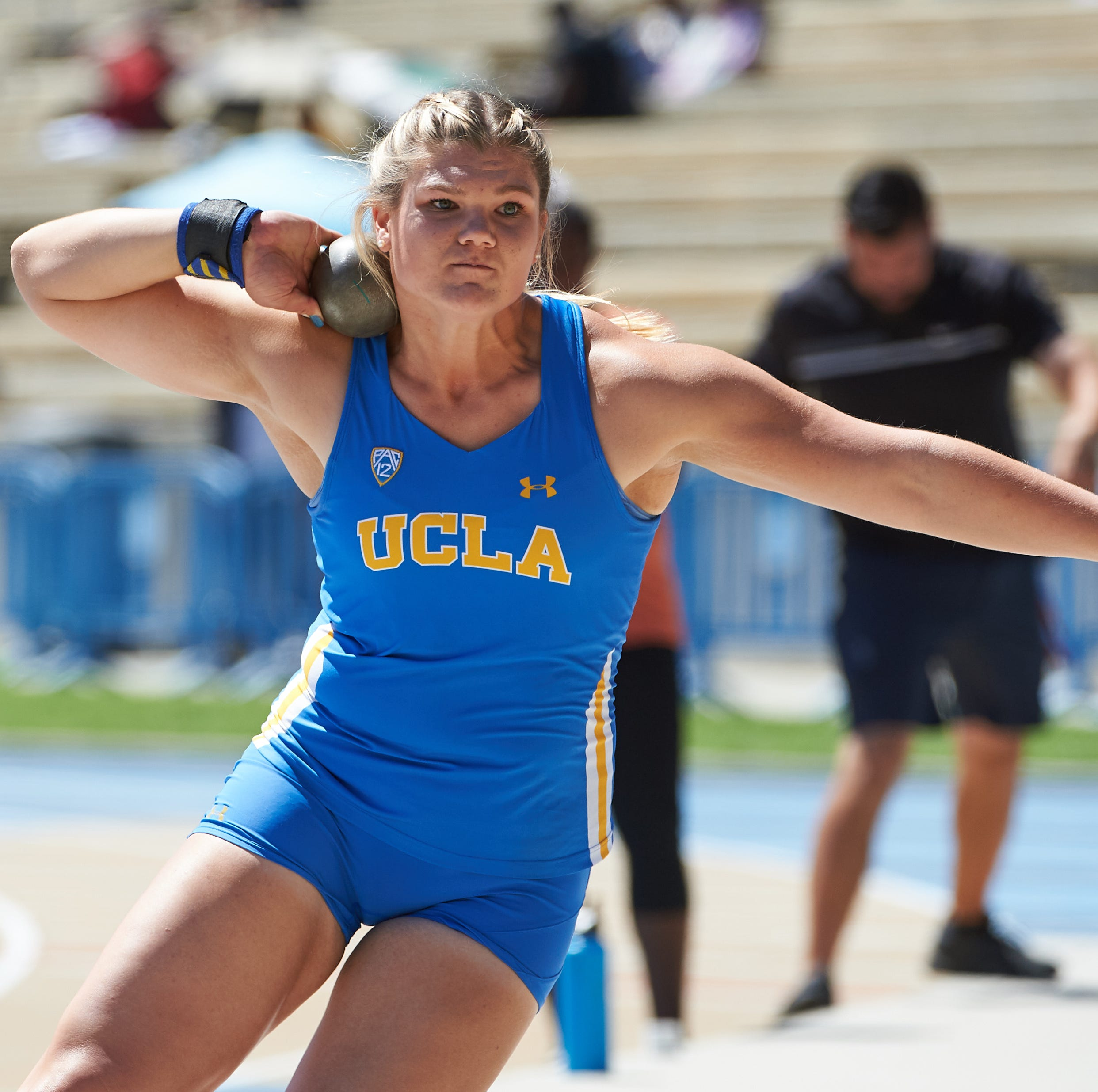 Alyssa Wilson breaking track and field records at UCLA