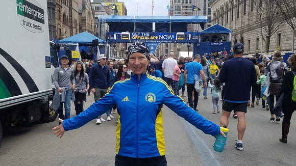 Uta Brandstatter, of Asheville, administrator of the Asheville Running Facebook group, is one of more than 33 runners from WNC competing in the Boston Marathon April 15.