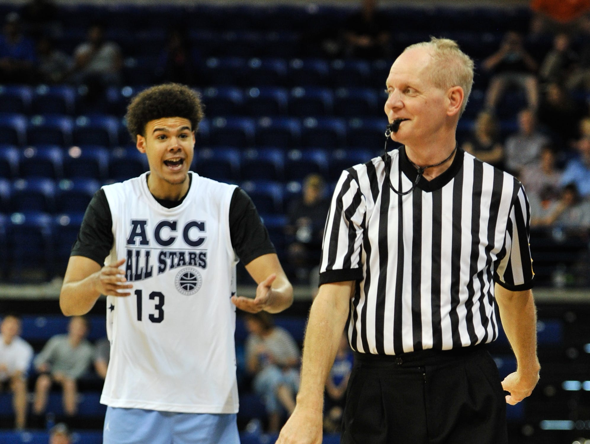 The annual Crossfire ACC All-Stars basketball game was April 14, 2019, at Kimmel Arena.
