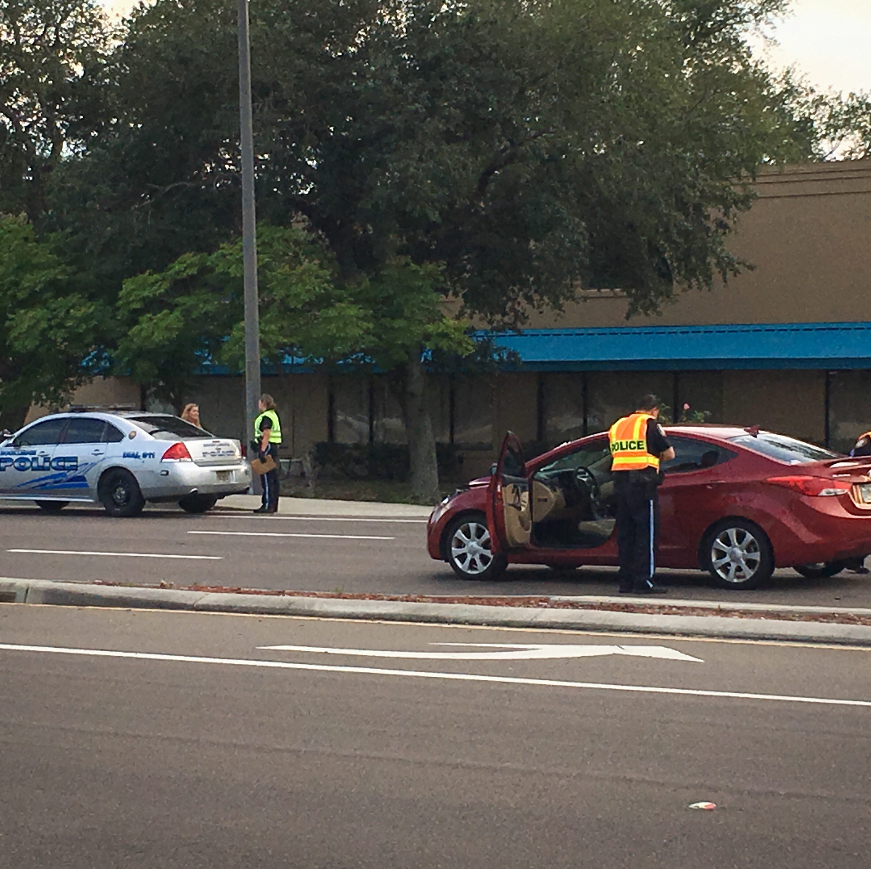 Rockledge police investigate traffic crash north of hospital