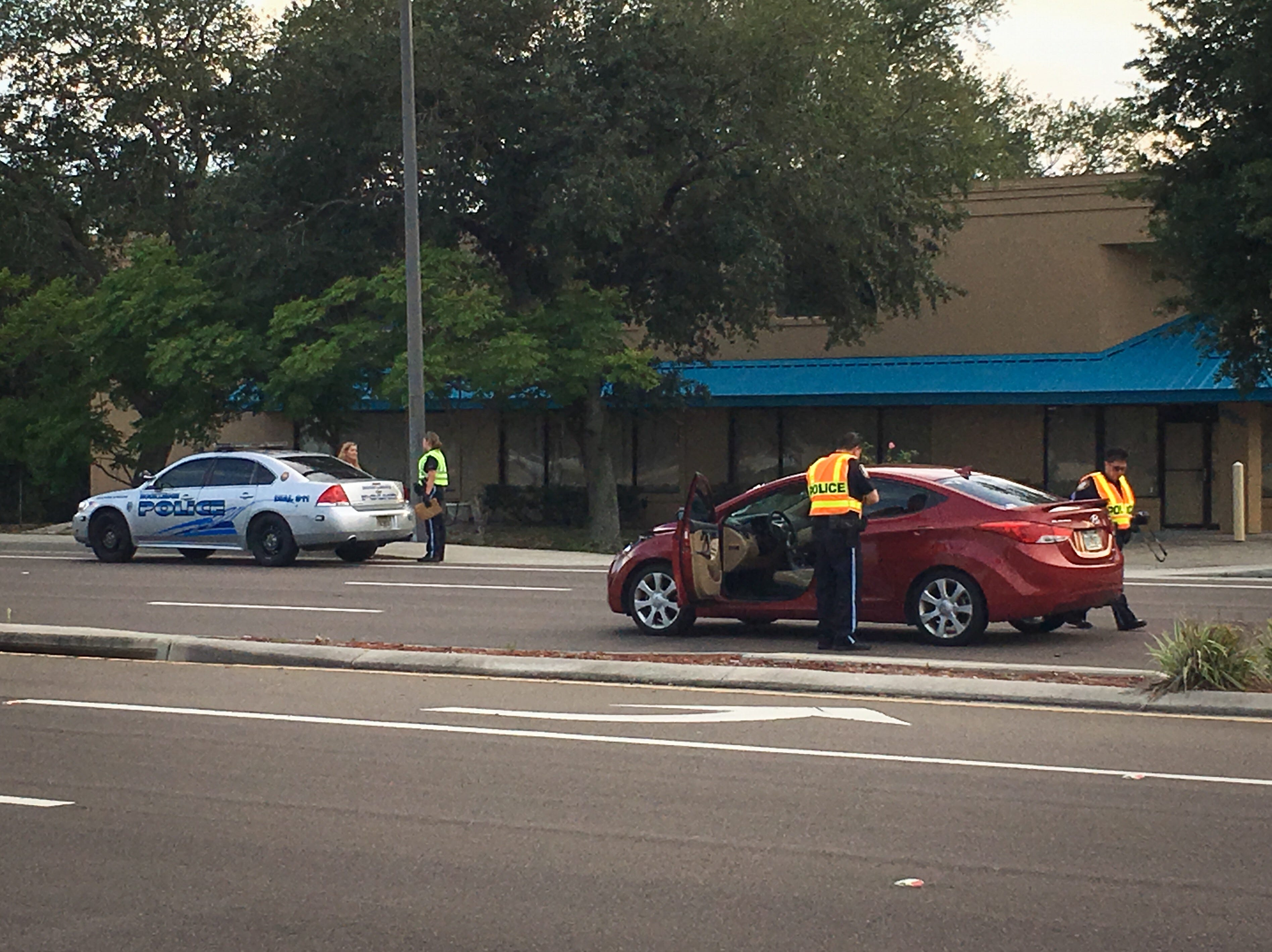 Rockledge police investigated a traffic fatality just north of Rockledge Regional Hospital.