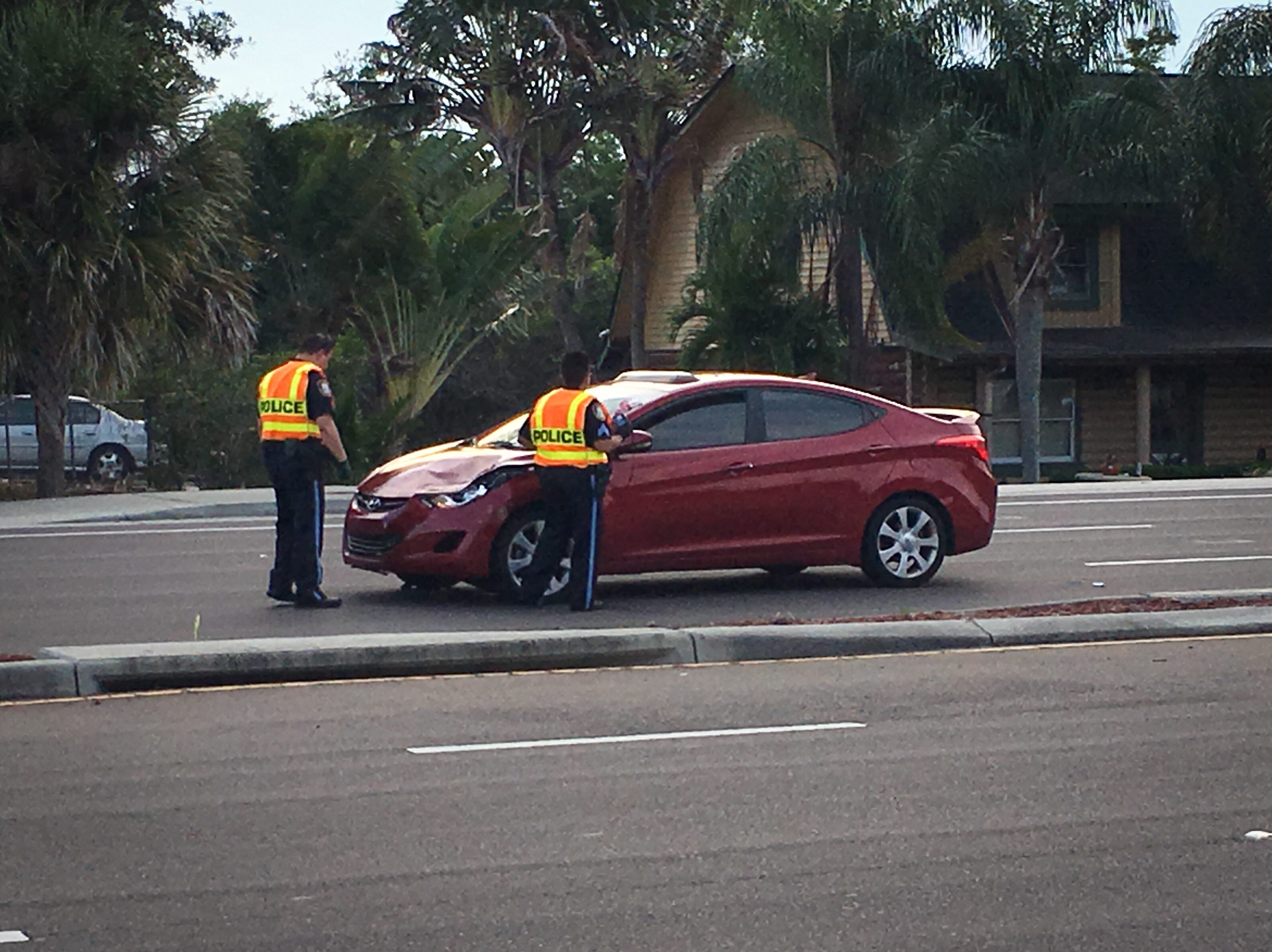 A pedestrian was hit and killed on U.S. 1 in Rockledge just north of Rockledge Regional Medical Center.