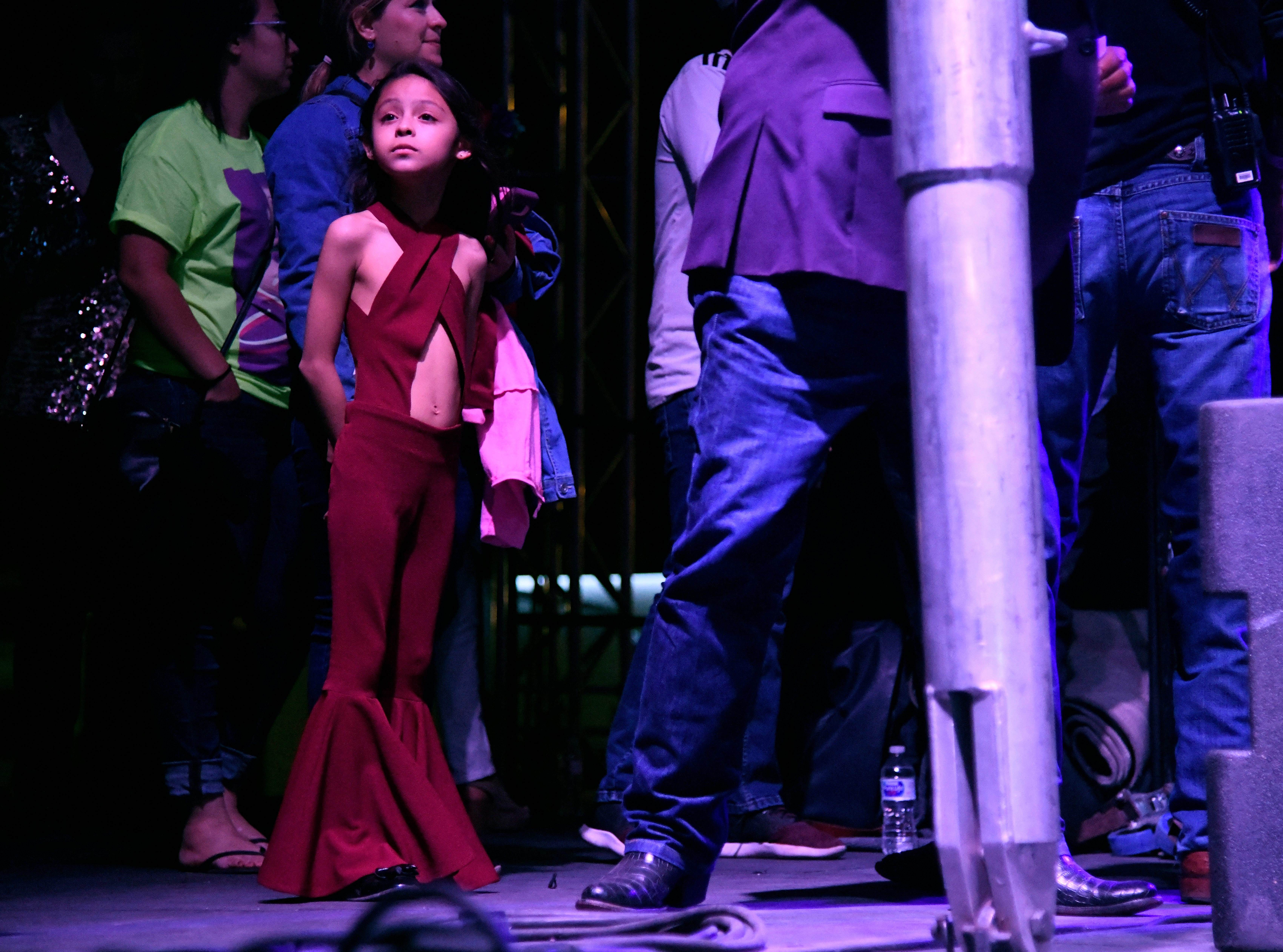Images of Day Two of Fiesta de la Flor, Saturday, April 13, 2019, at the American Bank Center.