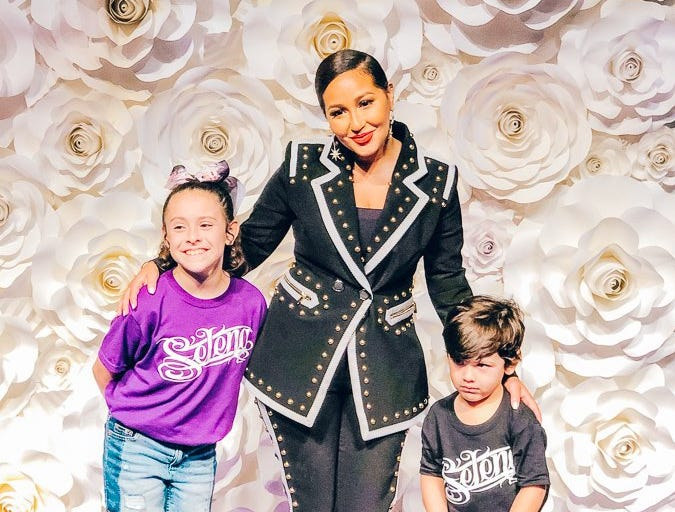 The Meet and Greet with Adrienne Bailon Houghton.