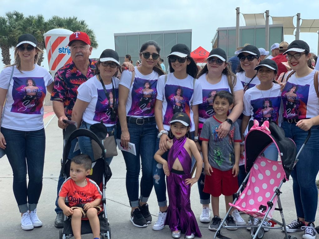 Just some of the cute Selena-inspired outfits that you can find at Fiesta de la Flor 2019.