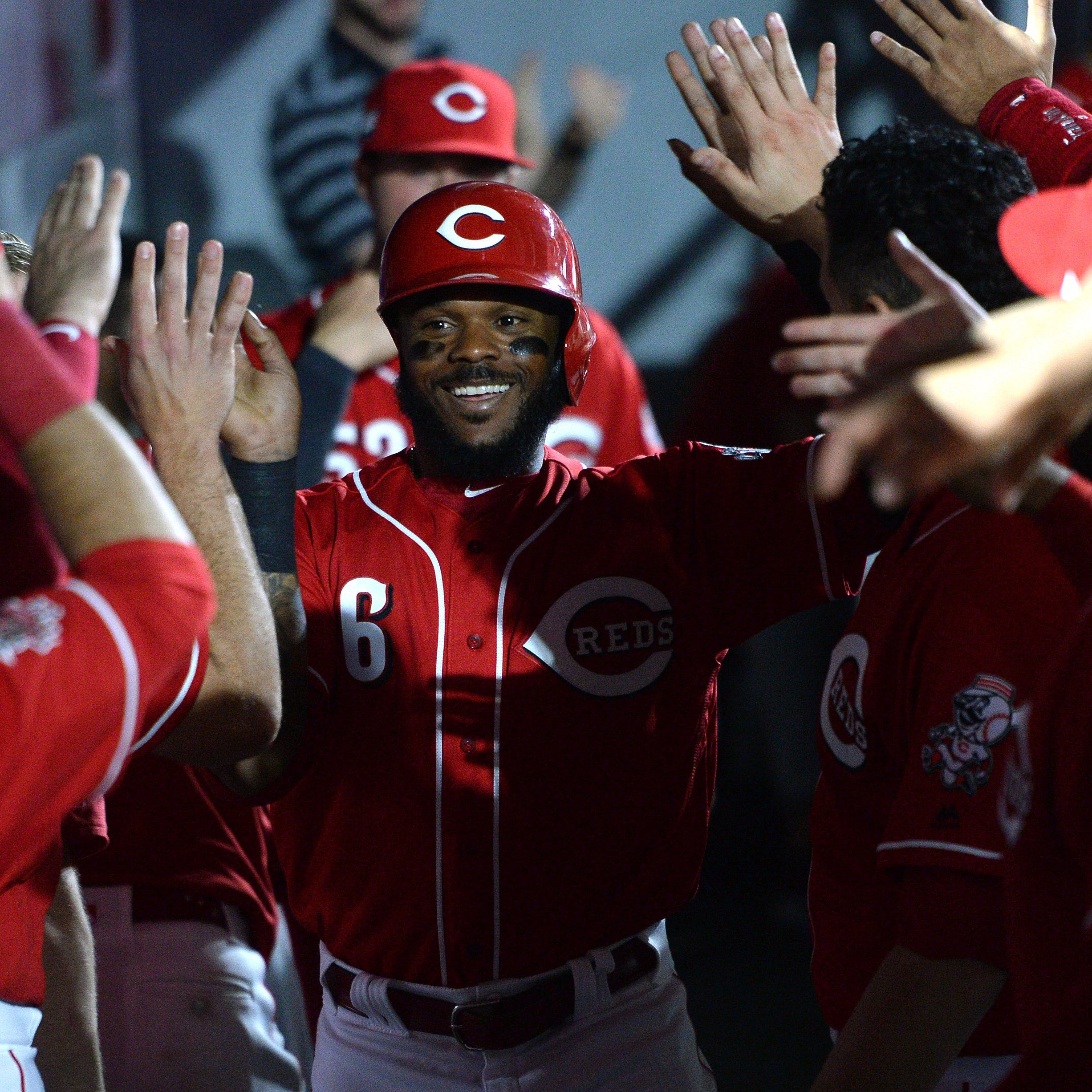 Reds manager David Bell says Phillip Ervin will get some starts in the absence of Matt Kemp